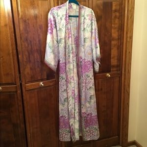 Woman's long robe